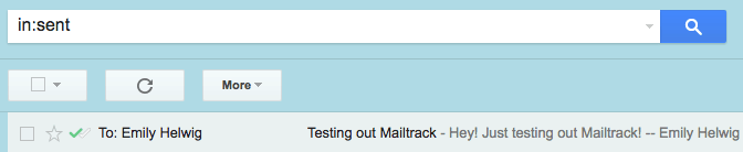 ứng dụng mailtrack