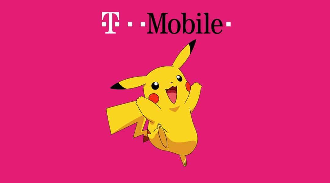 T Mobile Darmowe dane dla Pokemon Go Player