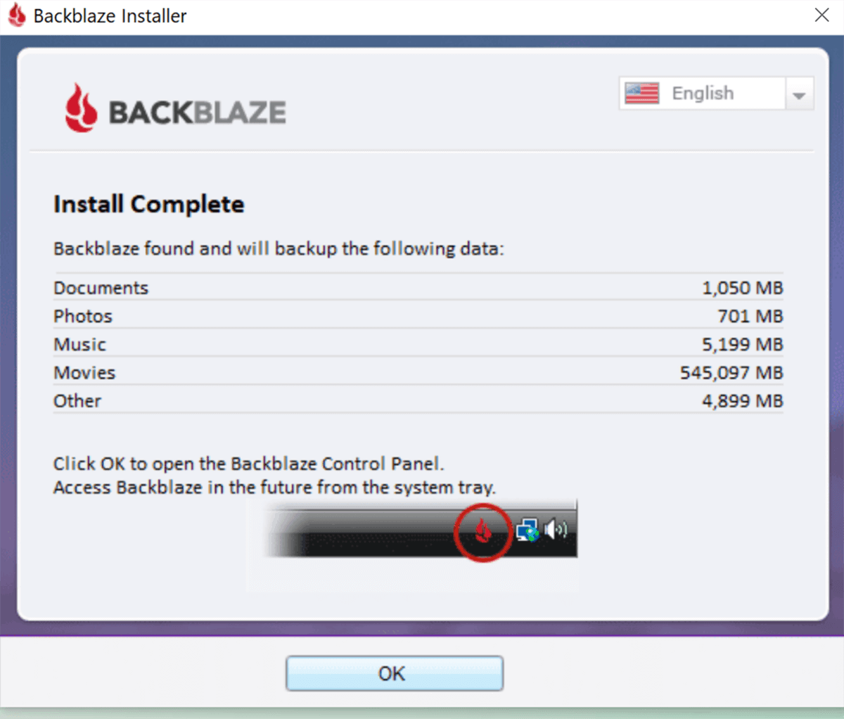 Blackblaze Installer